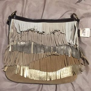 Coach Suede Fringe Purse